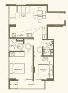 LiiV Residences - Configuration 2