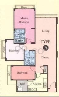 Woodgrove Condominium - Configuration Aa