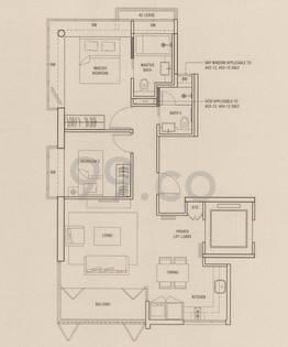 Shelford Suites - Configuration A11