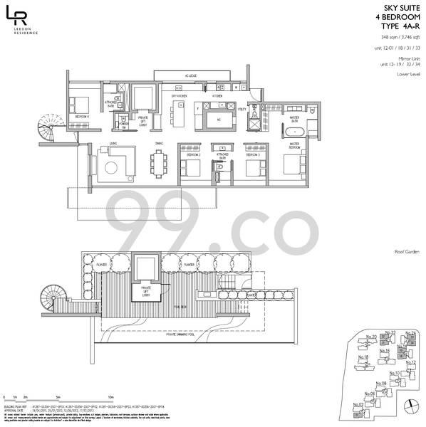 Leedon Residence - Configuration 4AR