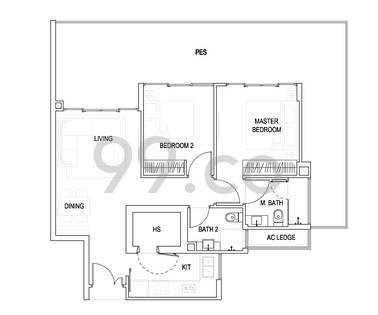 Urban Residences - Configuration B1p