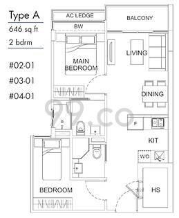 Suites De Laurel - Configuration A
