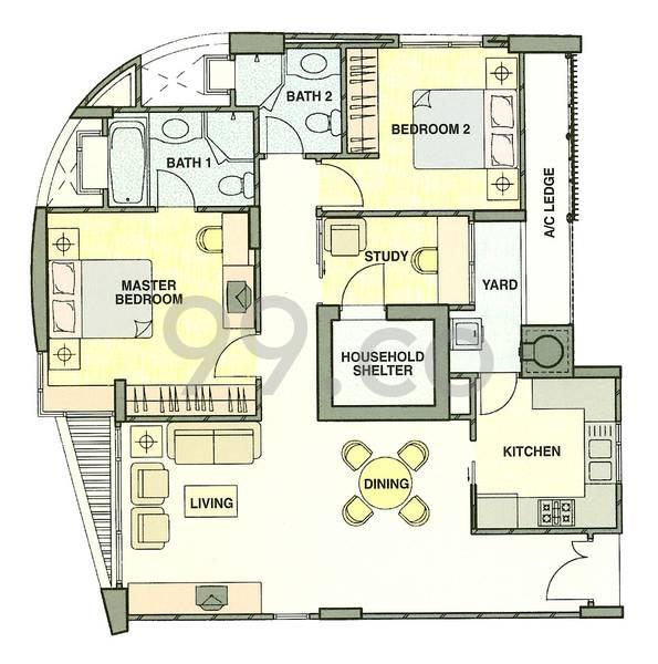 Dahlia Park Condominium - Configuration A