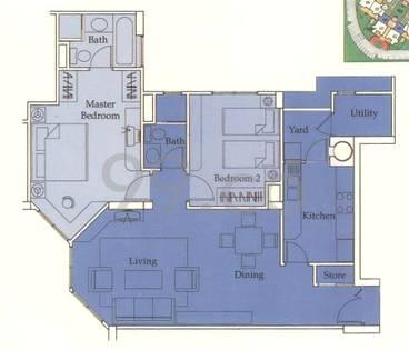 Castle Green - Configuration A1