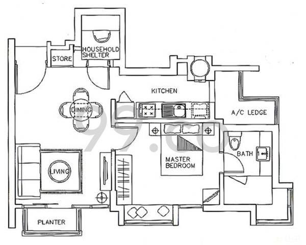 Poshgrove East - Configuration 1A