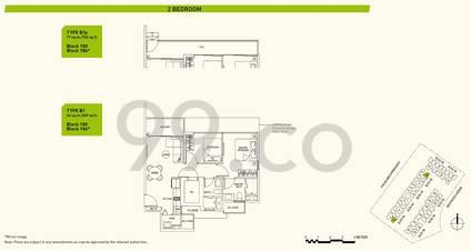 Westwood Residences - Configuration B1
