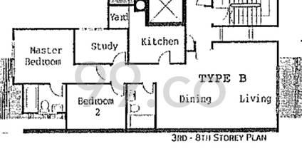 Blossom Mansions - Configuration B