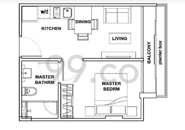 Suites @ Guillemard - Configuration A