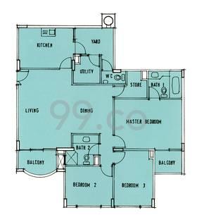 Gold Leaf Mansions - Configuration A1