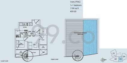8M Residences - Configuration PHC