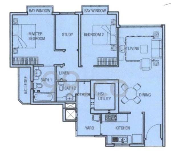 Rio Vista - Configuration A1