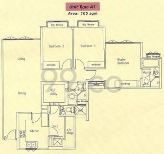 Bishan Loft - Configuration A1