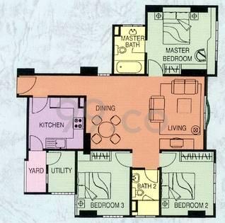 Monarchy Apartments - Configuration C1