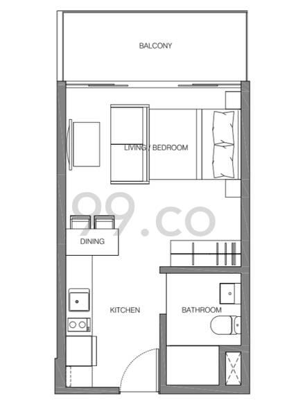 Avant Residences - Configuration A1