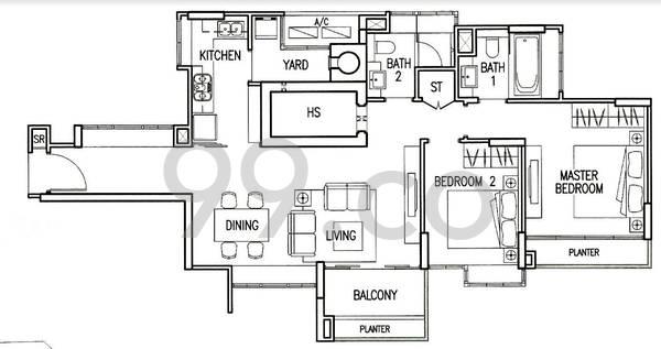 Mera Springs - Configuration A1