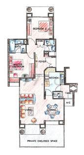Hazel Park Condominium - Configuration A1