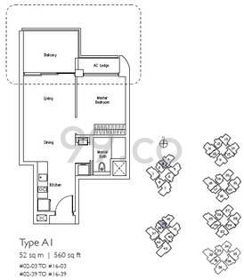 Lakeville - Configuration A1