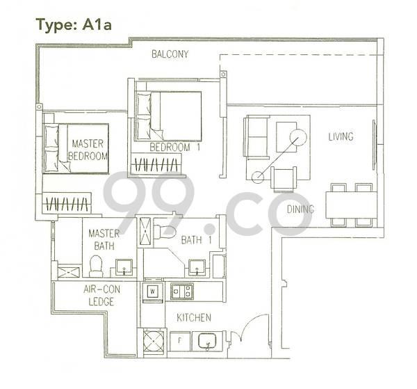 Watercolours - Configuration A1a