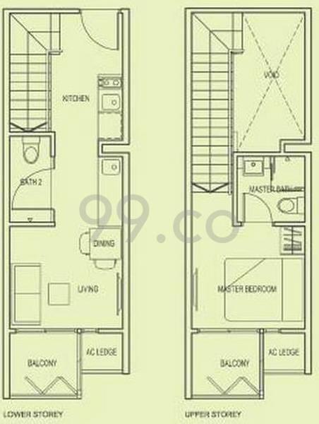 # 1 Loft - Configuration A1