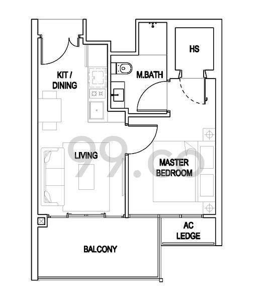 Urban Residences - Configuration A