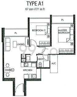 The Metropolitan Condominium - Configuration A1