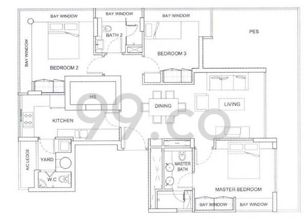 East Galleria - Configuration A1