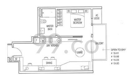 Boathouse Residences - Configuration A