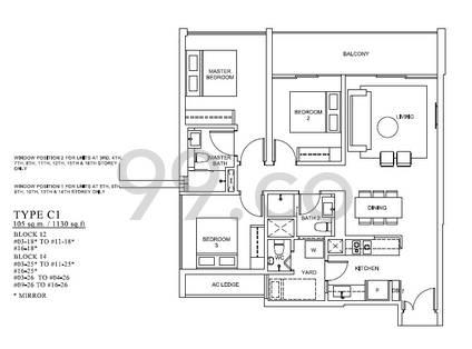 The Venue Residences & Shoppes - Configuration C1