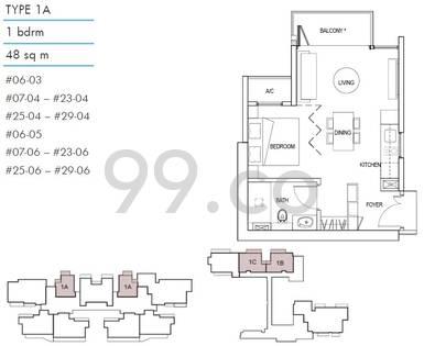 Kallang Riverside - Configuration 1A