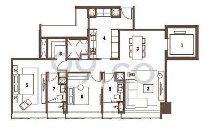 Twentyone Angullia Park - Configuration A1