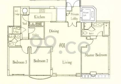 Martina Mansions - Configuration A