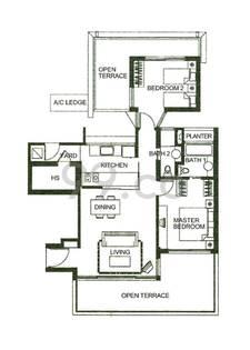 Garden Apartment - Configuration A1