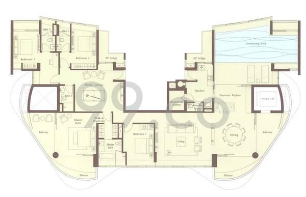 Ferrell Residences - Configuration PH1