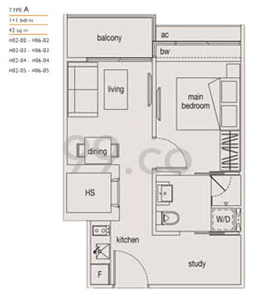 Loft @ Nathan - Configuration A