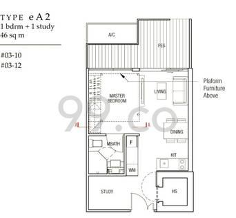 Midtown Residences - Configuration eA2