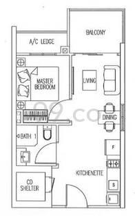 Suites @ Changi - Configuration A1