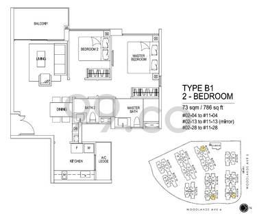 Bellewoods - Configuration B1