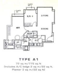 Sanctuary Green - Configuration A1