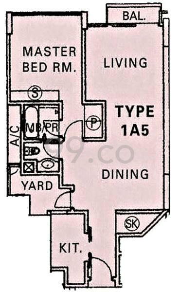 River Place - Configuration 1A5