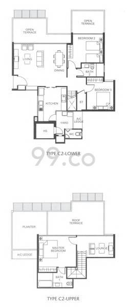 Varsity Park Condominium - Configuration C2
