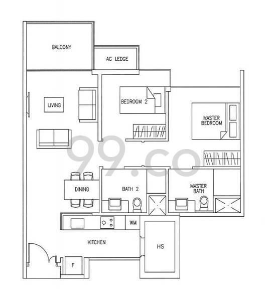 Austville Residences - Configuration A1