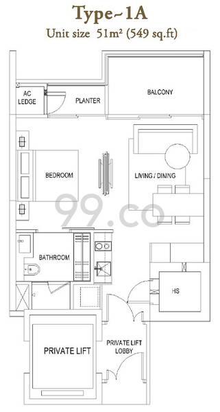 The Laurels - Configuration 1A