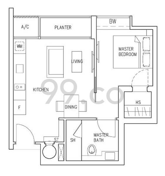 Riviera 38 - Configuration A1