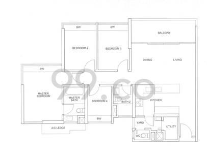 Centro Residences - Configuration D1cb