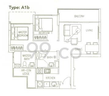Watercolours - Configuration A1b