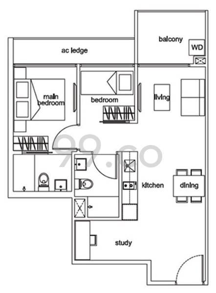 38 I Suites - Configuration A