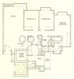 Forest Hills Condominium - Configuration C1