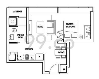 Skyline Residences - Configuration A1