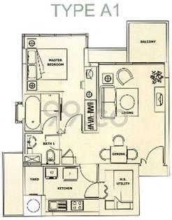 Grosvenor View - Configuration A1