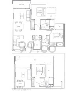 Bartley Residences - Configuration 2d1